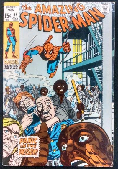 AMAZING SPIDER-MAN #99 FN+