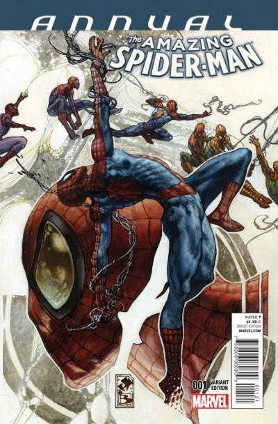 AMAZING SPIDER-MAN ANNUAL (2014) #1 VF/NM SIMONE BIANCHI MARVEL NOW!