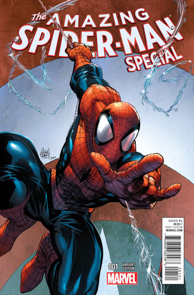 AMAZING SPIDER-MAN SPECIAL (2015) #1 VF/NM ADAM KUBERT VARIANT COVER