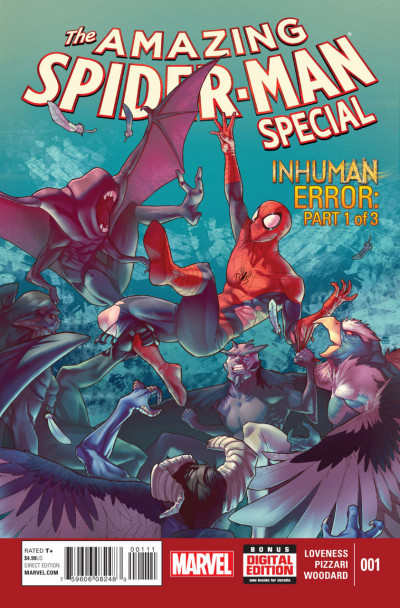 The Amazing Spider-Man Special (2015) #1 VF/NM Jamal Campbell Cover