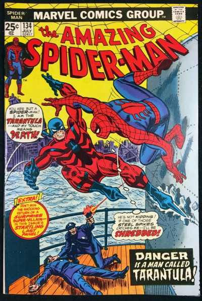 Amazing Spider-Man (1963) #134 VF/NM (9.0) 1st app Tarantula 2nd cameo Punisher