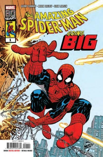 Amazing Spider-Man: Going Big (2019) #1 VF/NM Erik Larsen Cover Mark Bagley Art