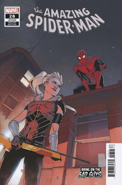 Amazing Spider-Man (2018) #28 (#829) VF/NM Bengal BOBG Variant Cover