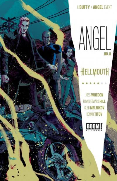 Angel (2019) #8 VF/NM Dan Panosian Cover Boom! Studios