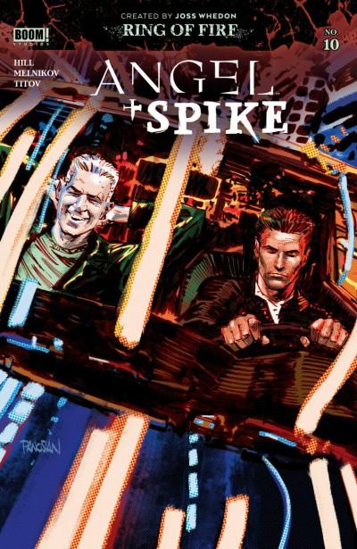 Angel + Spike (2020) #10 VF/NM Dan Panosian Cover A Boom! Studios
