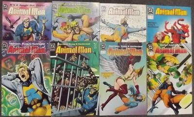 ANIMAL MAN (1988) #'s 1-89 + ANNUAL COMPLETE SET GRANT MORRISON
