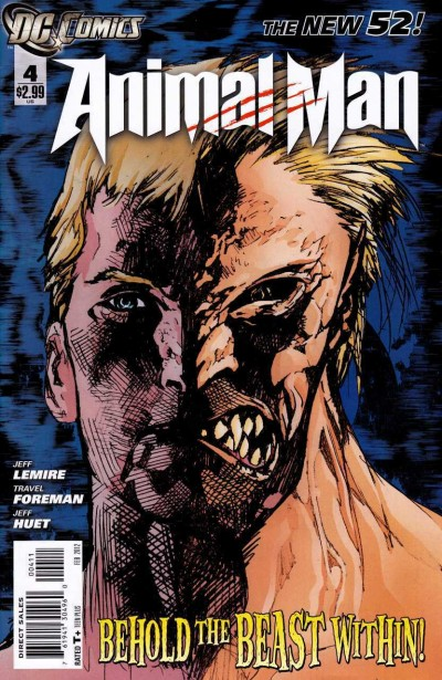 ANIMAL MAN (2011) #4 VF/NM (9.0) THE NEW 52