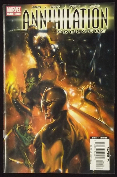 ANNIHILATON #'s 1, 2, 3, 4, & PROLOGUE GUARDIANS OF THE GALAXY