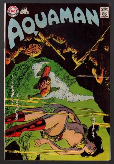 Aquaman (1962) with Aqualad #48 VF- (7.5) Origin Reprinted