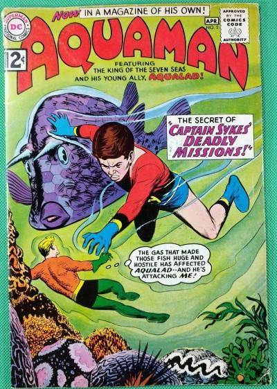 Aquaman (1962) with Aqualad #2 VG+ (4.5)