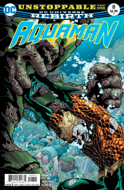 Aquaman (2016) #8 VF/NM Brad Walker Cover DC Universe Rebirth