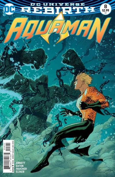 Aquaman (2016) #8 VF/NM Joshua Middleton DC Universe Rebirth