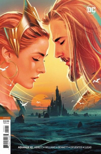 Aquaman (2016) #40 VF/NM (9.0) Joshua Middleton variant