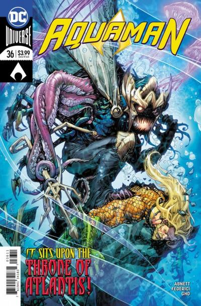 Aquaman (2016) #36 VF/NM Howard Porter Cover