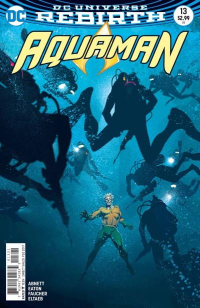 Aquaman (2016) #13 VF/NM Joshua Middleton DC Universe Rebirth