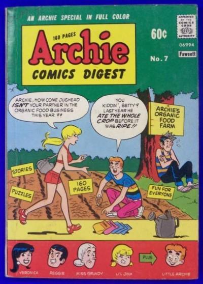 ARCHIE COMICS DIGEST #7 FN+