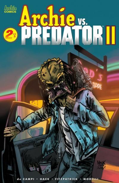 Archie vs. Predator II (2019) #2 of 5 VF/NM Archie Robert Hack Cover
