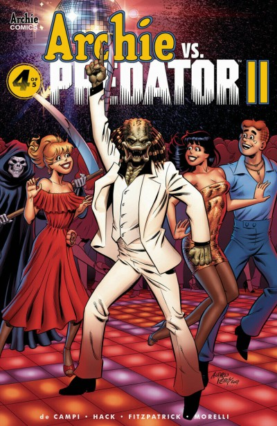 Archie vs. Predator II (2019) #4 of 5 VF/NM Archie Andrew Pepo Cover