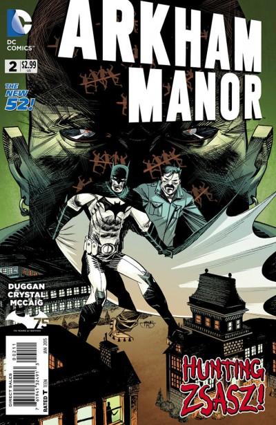 ARKHAM MANOR (2014) #2 FN/VF THE NEW 52! BATMAN