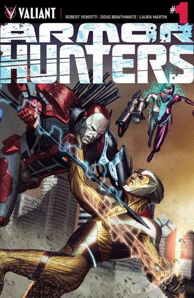 ARMOR HUNTERS (2014) #1 VF/NM COVER A VALIANT COMICS