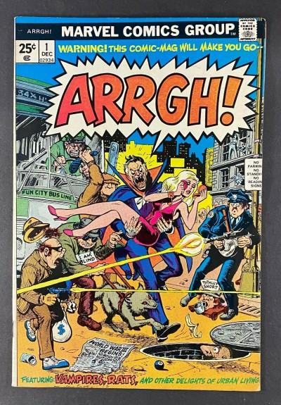 Arrgh! (1974) #1 FN+ (6.5) Marie Severin Cover