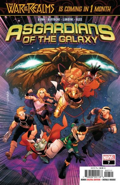 Asgardians of the Galaxy (2018) #7 VF/NM