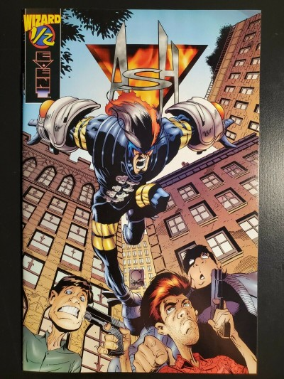 Ash #1/2 (½ half) (1997) NM Event Joe Quesada only available through Wizard|