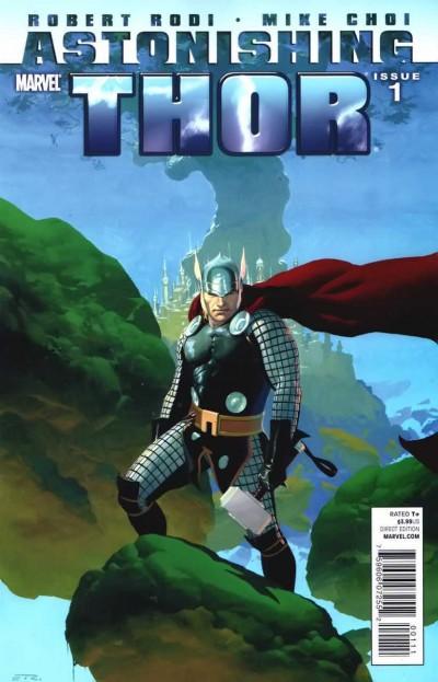 ASTONISHING THOR (2011) #1 VF ESAD RIBIC COVER