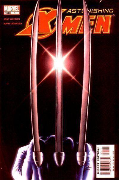 ASTONISHING X-MEN #1 FN/VF JOSS WHEDON JOHN CASSADAY