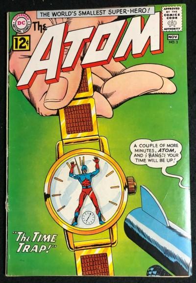 Atom (1962) #3 VG/FN (5.0) 1st app & Origin Chronos 1st Time Pool Story