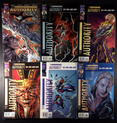Authority (1999) 1-29 compete Reader set  Warren Ellis Brian Hitch DC Wildstorm