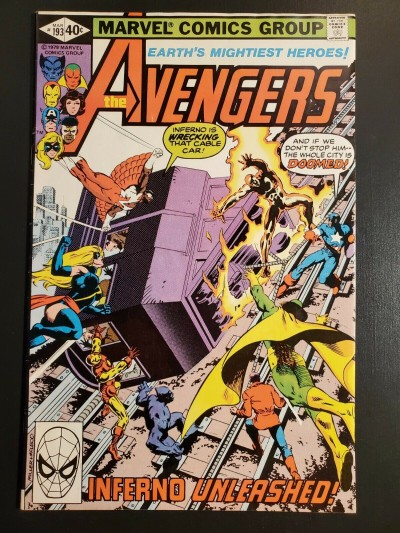 Avengers #193 (1976) F/VF 7.0 Frank Miller cover |