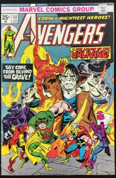 Avengers (1963) #131 FN/VF (7.0) vs Legion of the Unliving