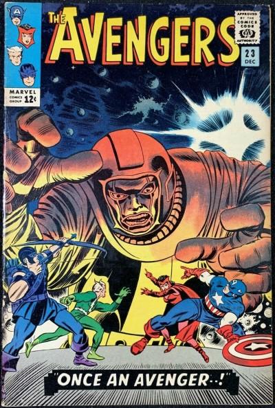 Avengers (1963) #23 FN+ (6.5) vs Kang part 1 of 2