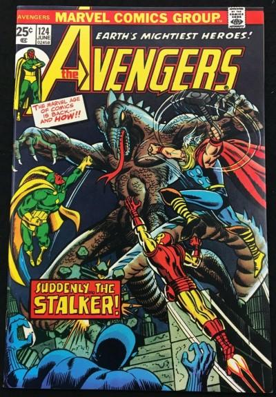 Avengers (1963) #124 NM (9.4) origin of Mantis