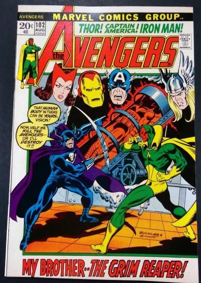 Avengers (1963) #102 VF/NM (9.0)