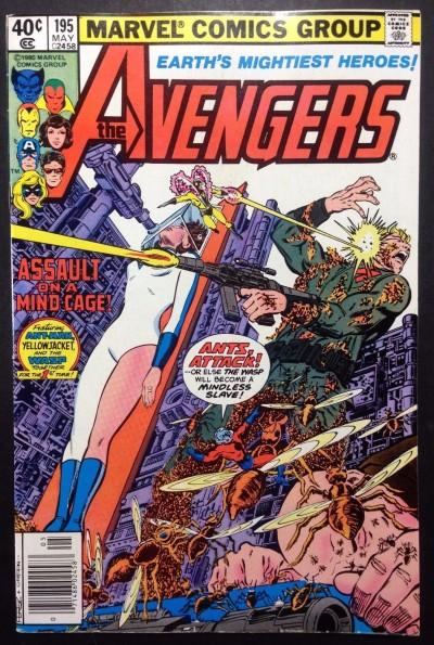 Avengers (1963) #195 VF (8.0) 1st app Taskmaster