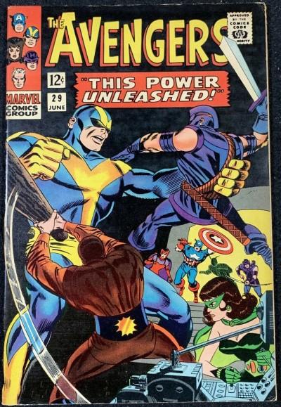 Avengers (1963) #29 VF- (7.5)