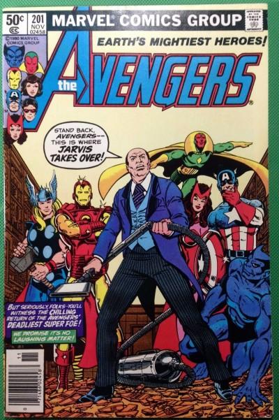 AVENGERS (1963) #201 VF (8.0)