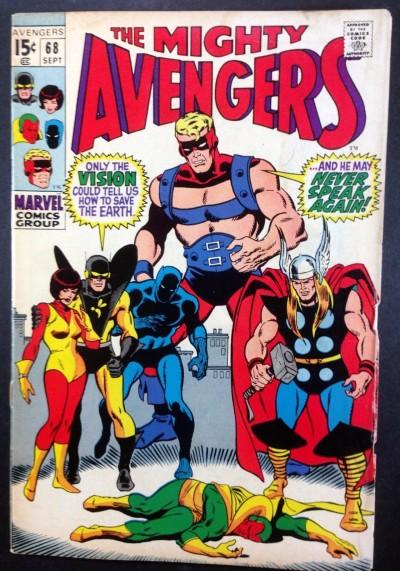 Avengers (1963) #68 VG (4.0) vs Ultron