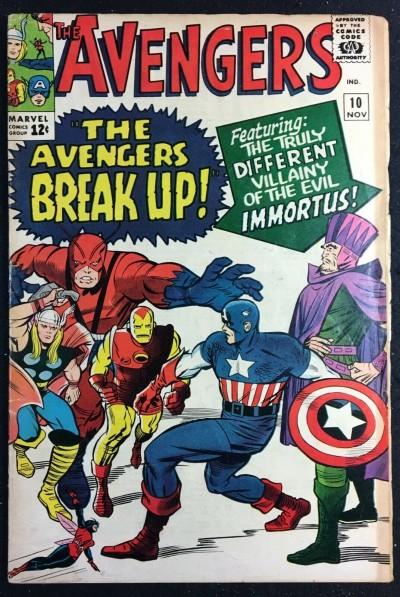 Avengers (1963) #10 PR (0.5) 1st app Immortus