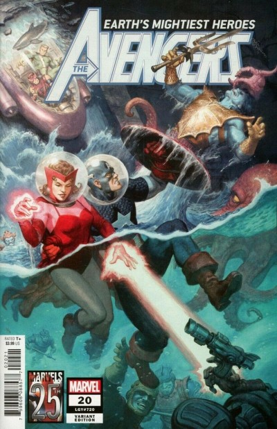 Avengers (2018) #20 (#720) VF/NM Marvels 25th Anniversary Tribute Variant Cover