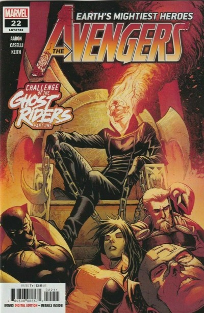 Avengers (2018) #22 (#722) VF/NM Secret Carnage Blood Logo Variant Cover