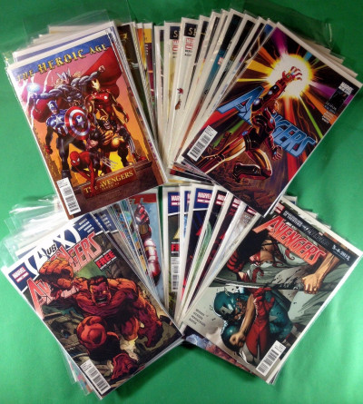 Avengers (2010) #1-34 + Annual complete set 37 comics Heroic Age