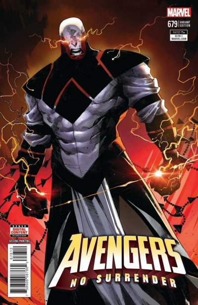 Avengers (2016) #679 VF/NM 2nd Printing Connecting Variant Cover