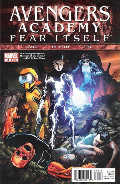 AVENGERS ACADEMY (2010) #18 VF/NM FEAR ITSELF TIE-IN