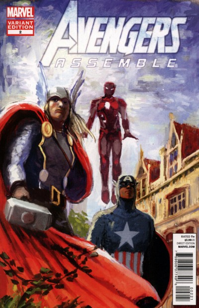 Avengers Assemble (2012) #2 VF/NM-NM Art Appreciation Variant Cover