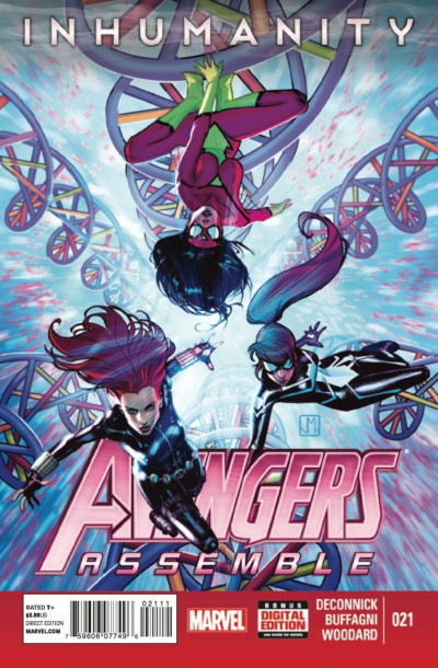 AVENGERS ASSEMBLE (2012) #21 VF/NM INHUMANITY TIE-IN MARVEL NOW!
