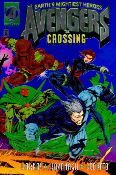 AVENGERS: THE CROSSING (1995) #1 NM MIKE DEODATO JR CHROMIUM COVER