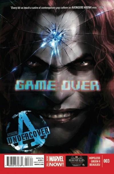 AVENGERS UNDERCOVER (2014) #3 VF/NM MARVEL NOW